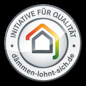 initiative qualität 300x300 - Specht am Mauerwerk